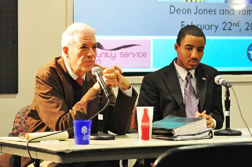 Tom Smith, Deon Jones talk Campus Plan at ANC town hall