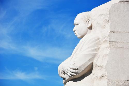 AU students celebrate MLK legacy at memorial