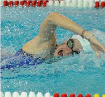 Ballance shines at swim quad-meet
