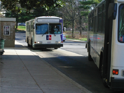 Students advocate for shuttle drivers' workplace rights