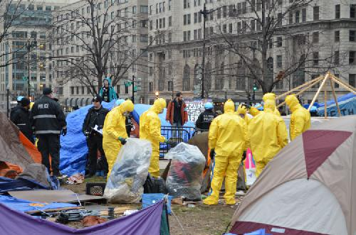 Police evict Occupy D.C. protestors