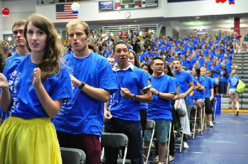 AU welcomes Class of 2016