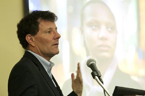 Kristof: women's inequality is the