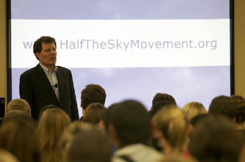 Q&A with Nicholas Kristof