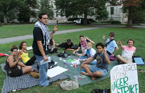 Students for Justice in Palestine renews hunger strike