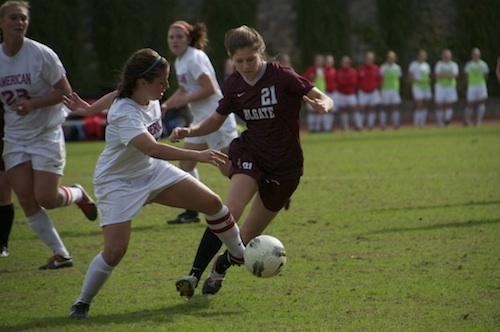 AU battles back to earn draw with Colgate