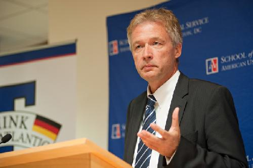 German ambassador talks Syria, economics
