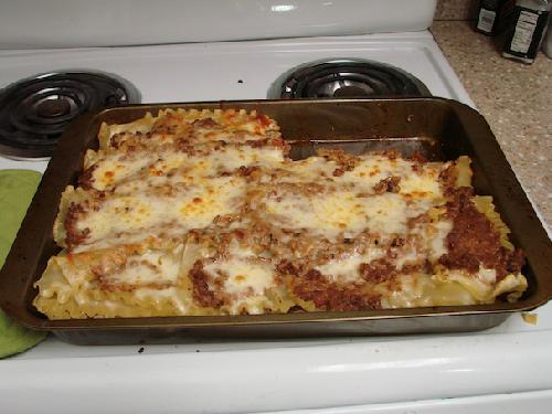 Lasagna made simple for vegetarians, vegans