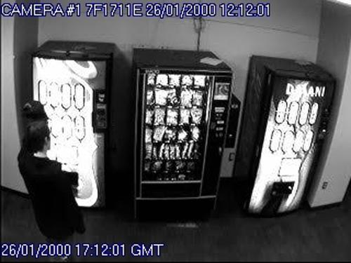 Coke machine vandalism suspect arrested