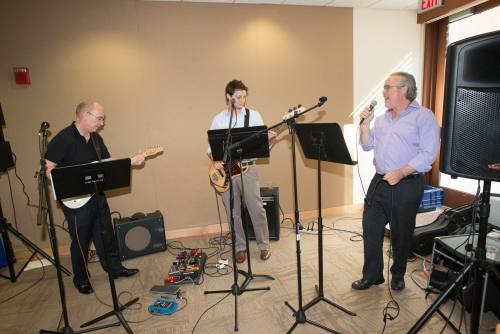 AU faculty members rock out on campus