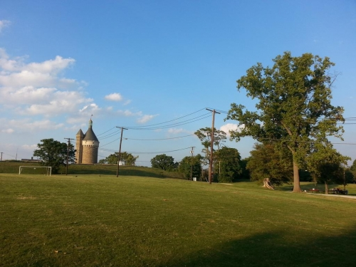 Police give all clear this afternoon after reports of hand grenade in Fort Reno park