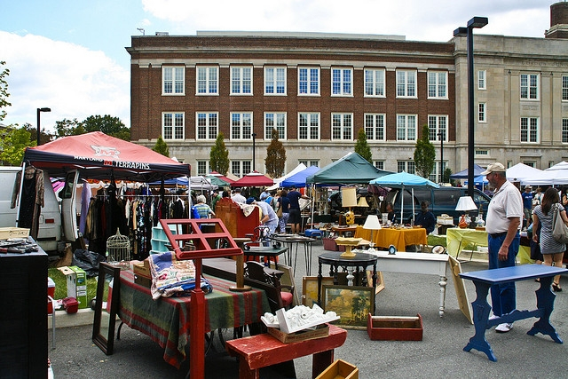Flea and Feed: Exploring Georgetown Flea Market