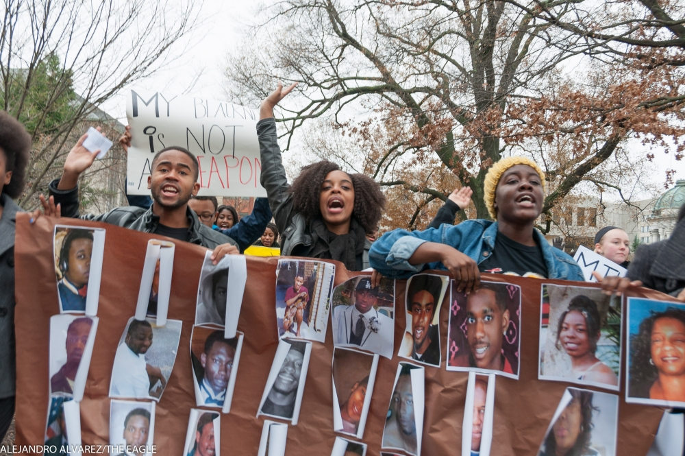 Over 200 students march to support Black Lives Matter movement