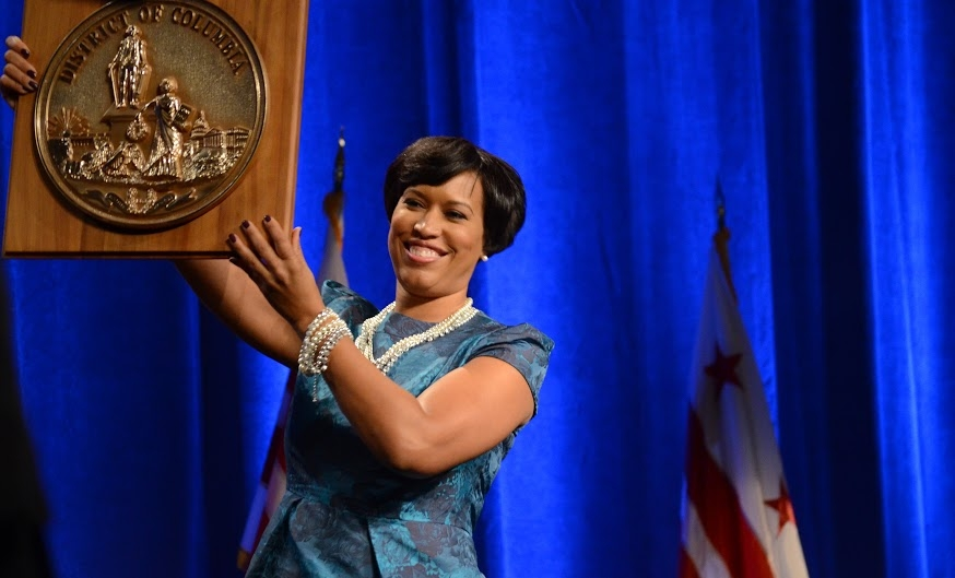 Muriel Bowser inaugurated as mayor of DC