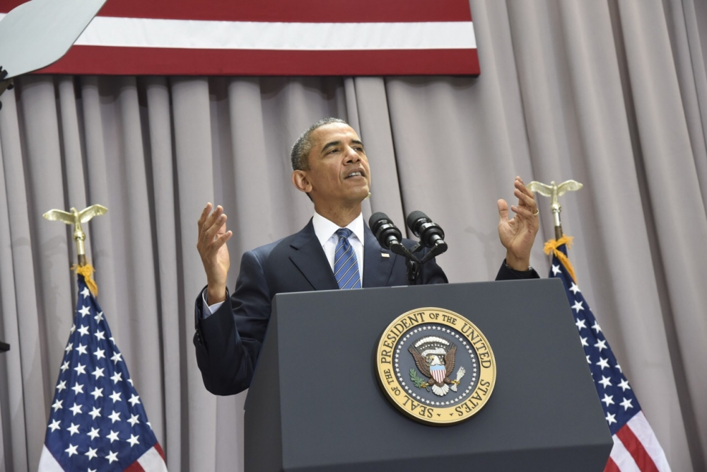 Obama offers a deal or a war in speech at SIS