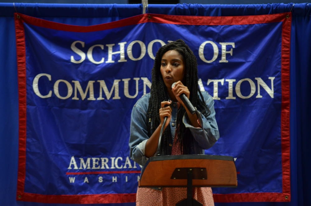 """""""Daily Show"""" Correspondent Jessica Williams encourages minorities and women to share their voices at KPU event"""