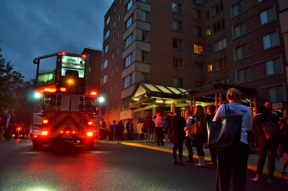 Berkshire Apartments evacuated after oven fire