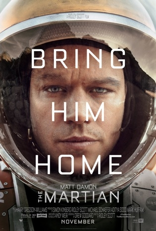 "Movie Review: ""The Martian"""