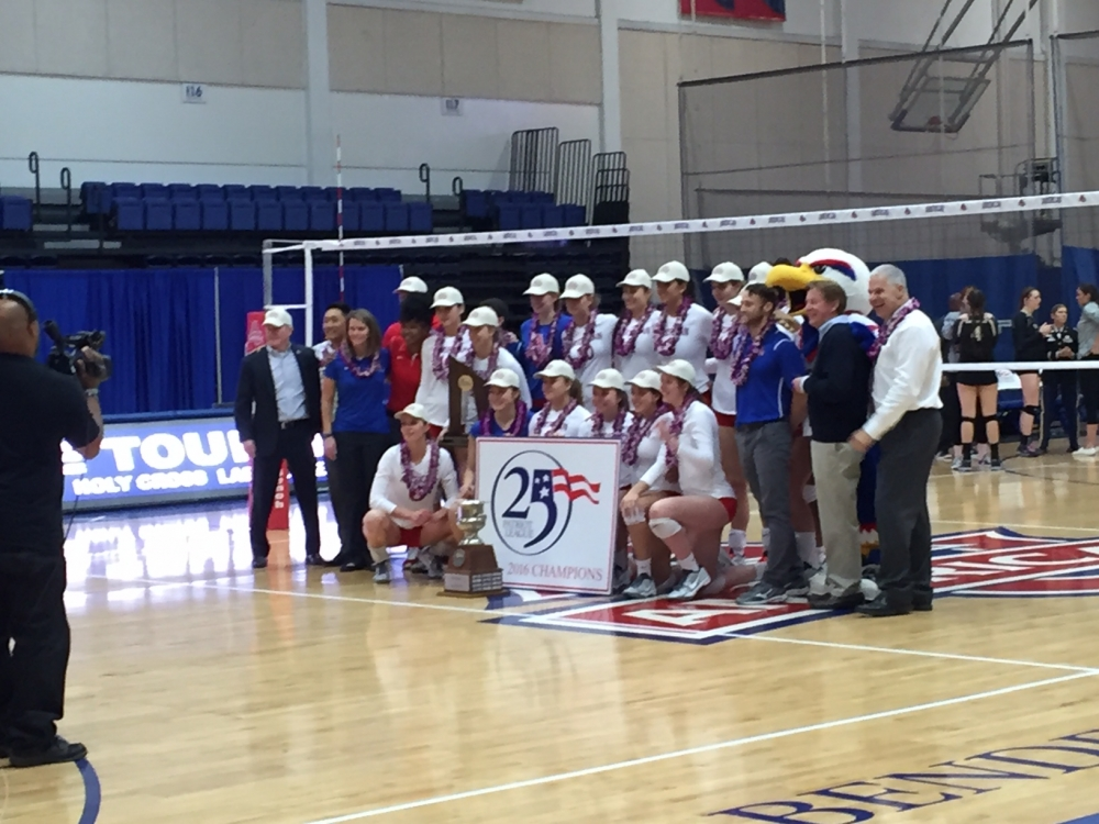 Volleyball wins 13th Patriot League title