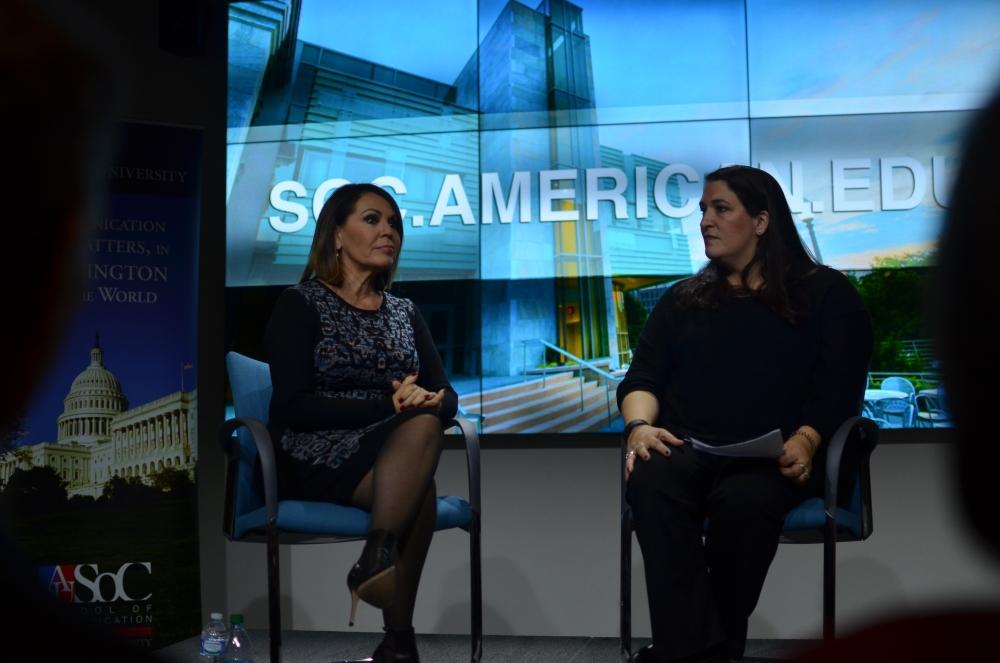 Univision's Maria Salinas talks immigration, upcoming election at SOC event