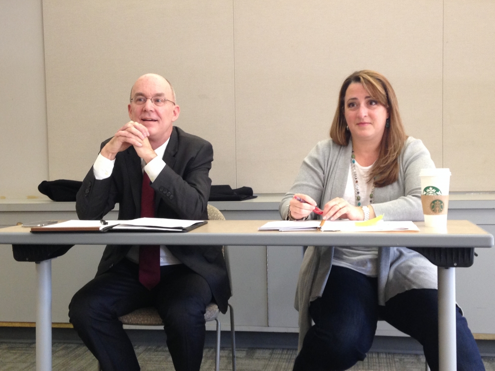Students, faculty discussed ideas for new general education curriculum at a town hall Wednesday