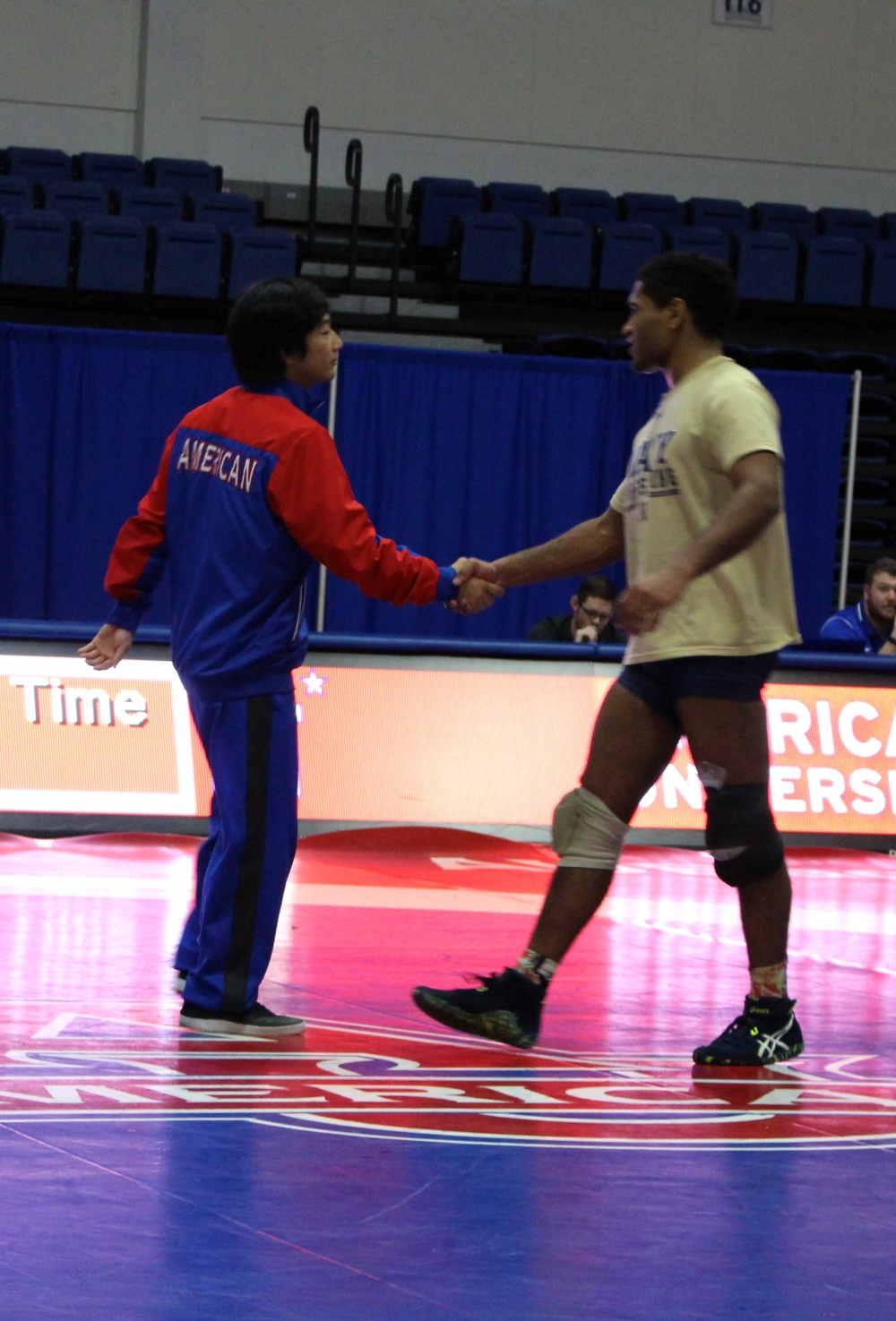 AU wrestling drops 21-17 to Navy