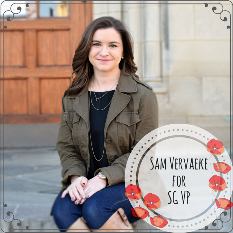 Op-Ed: Sam Vervaeke is the best candidate for SG Vice President