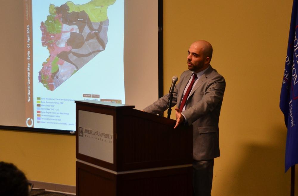 KPU speaker Ahed Al Hendi talks Syrian crisis and student activism