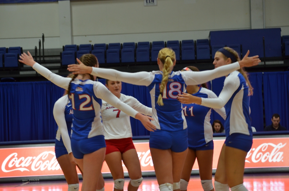 AU volleyball player steps up as senior leader
