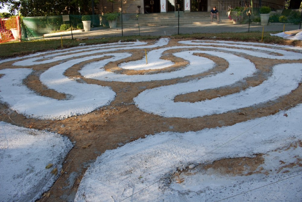 New labyrinth set to open on campus toward the end of September