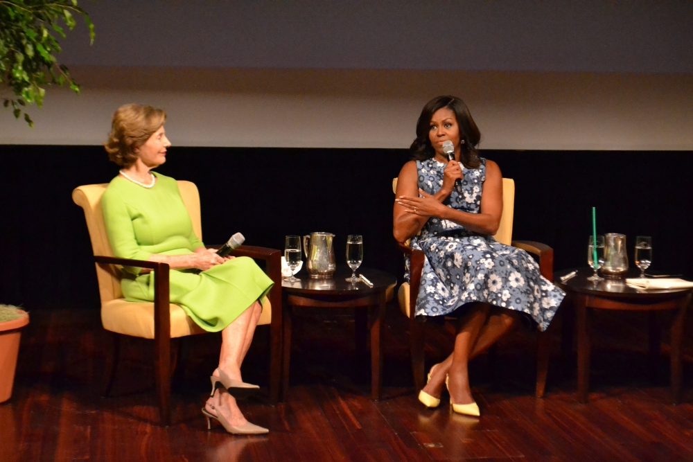Michelle Obama, Laura Bush headline conference led by SPA at the National Archives