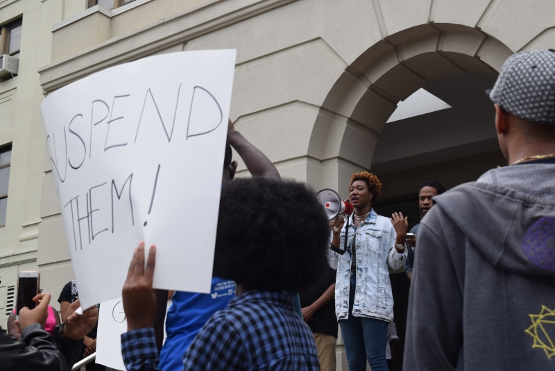a black student alliance bsa protest on racism against the minorities on campus Missouri protests embolden minorities on other us campuses  making death threats against black students at the school  have encountered on campus facing issues the missouri protests also .