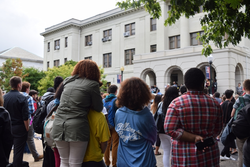 Groups Rally Against Racism