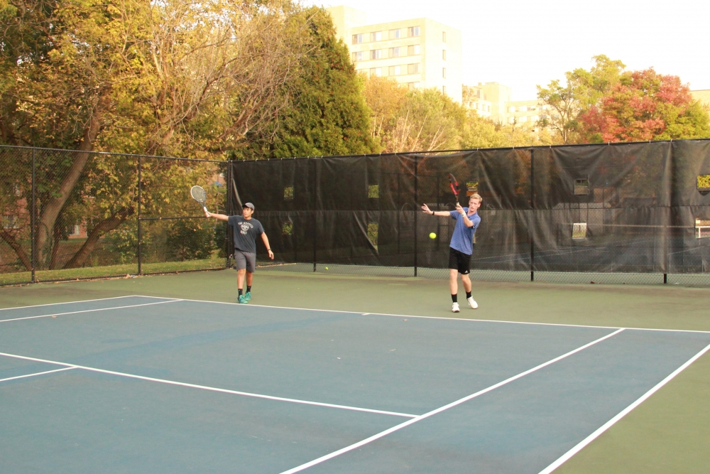 AU club tennis team to play in national tournament for the first time