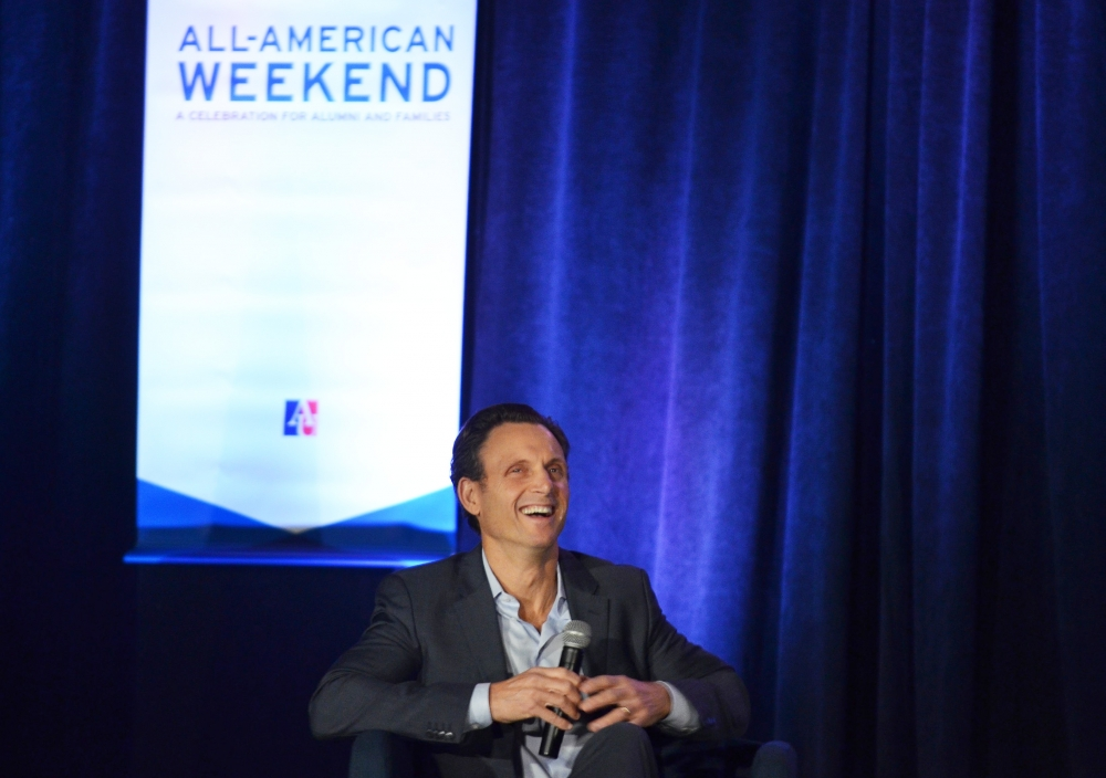 "Tony Goldwyn talks ""Scandal,"" politics and criminal justice reform at KPU event"