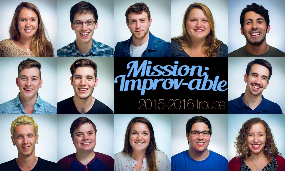 Mission: Improv-able masters conscious comedy