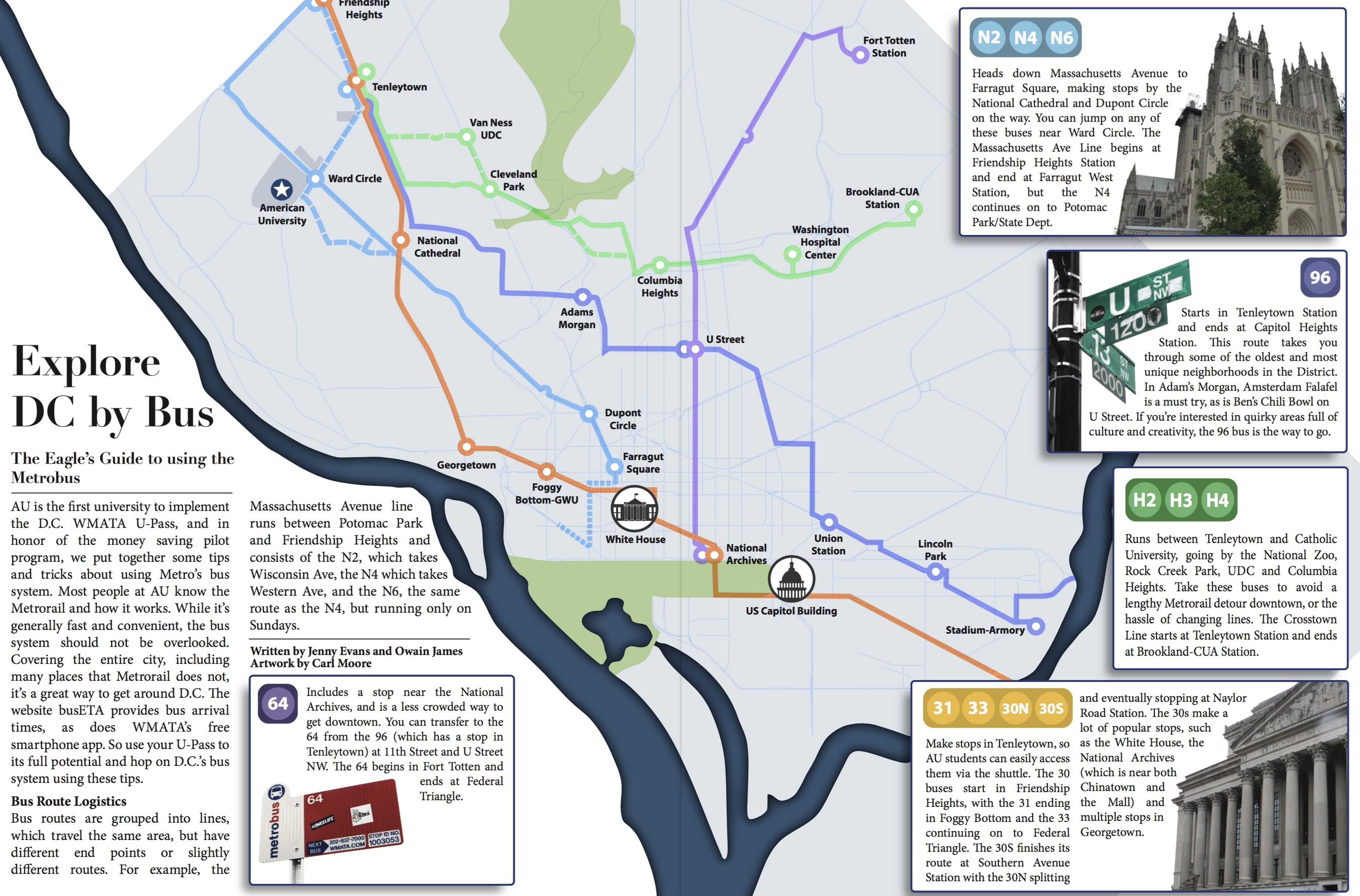 Straight from print: Explore DC by bus