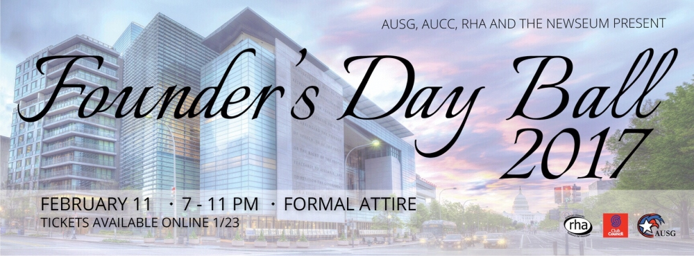 Founder's Day Ball to be held at Newseum