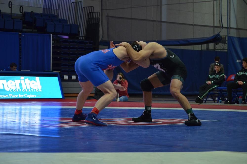 Binghampton takes down AU wrestling in EIWA home dual