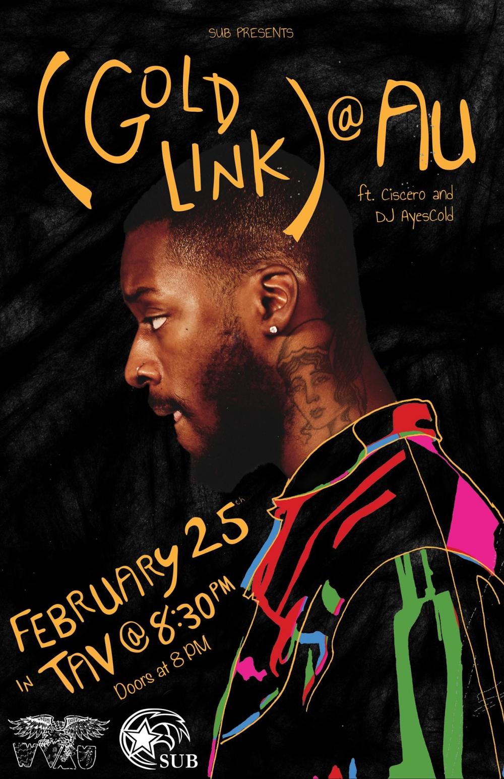 Goldlink to perform at SUB spring concert