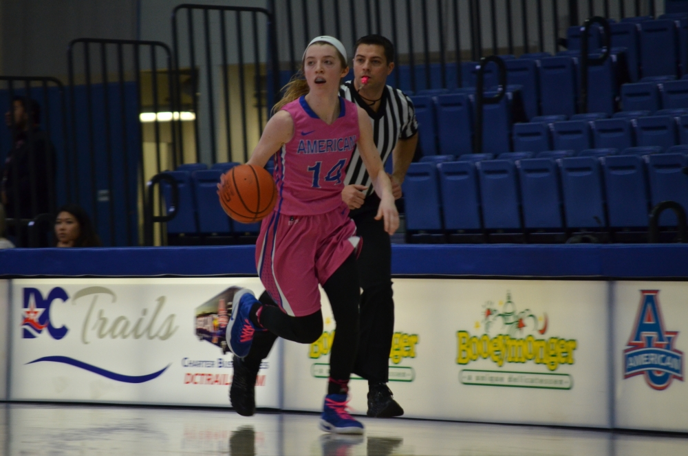 Women's basketball cruises to victory over Lafayette