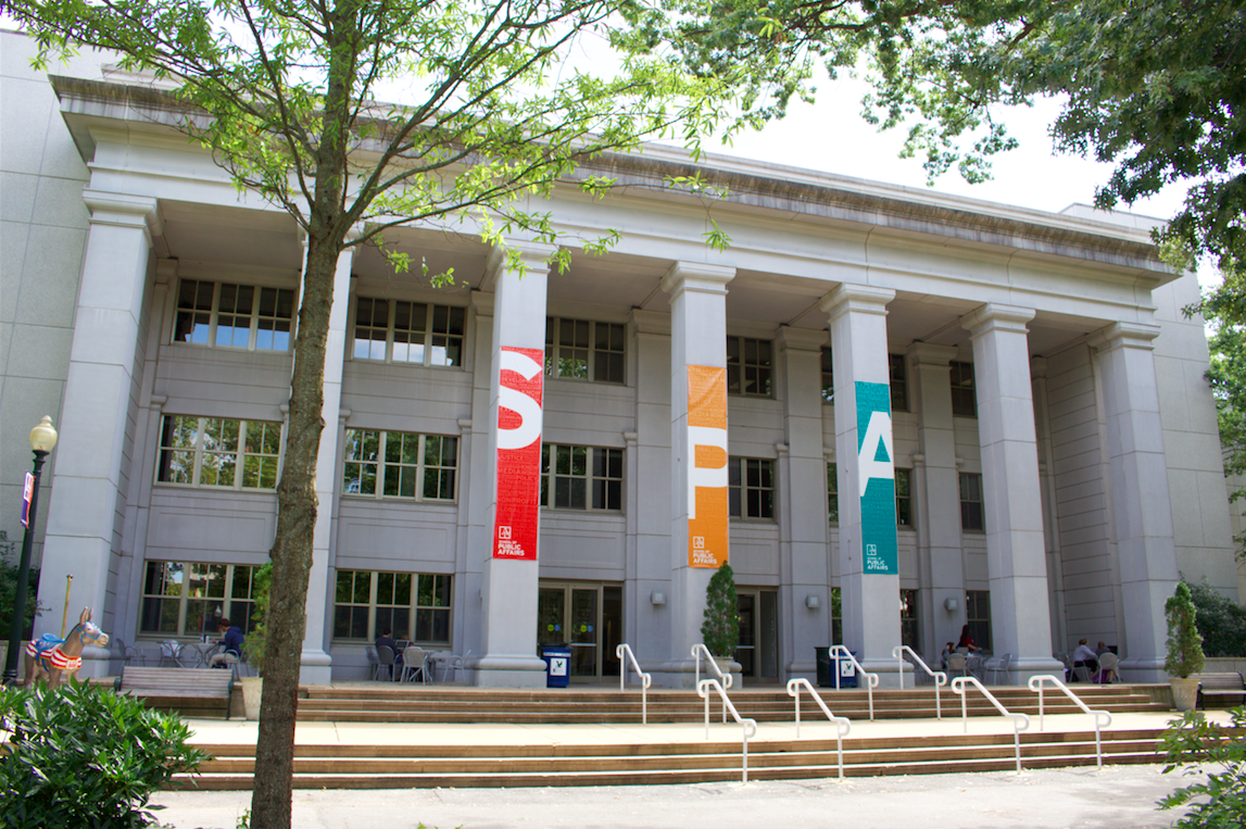 Ward Circle Building now named Kerwin Hall