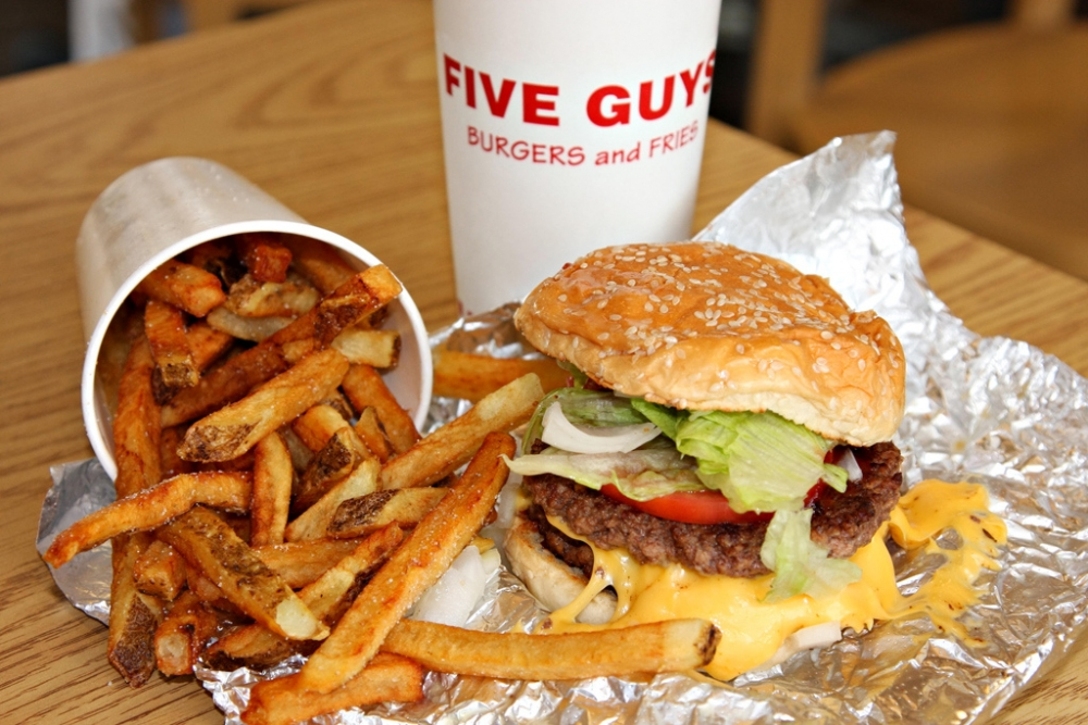 Five Guys comes to Tenleytown