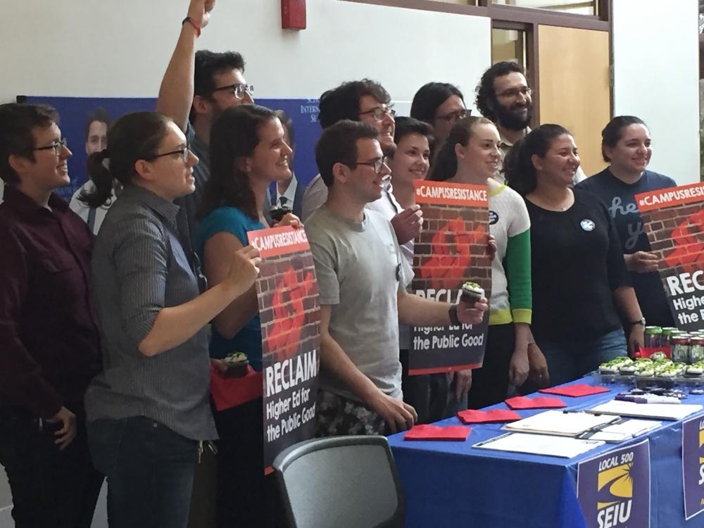 Graduate students form union