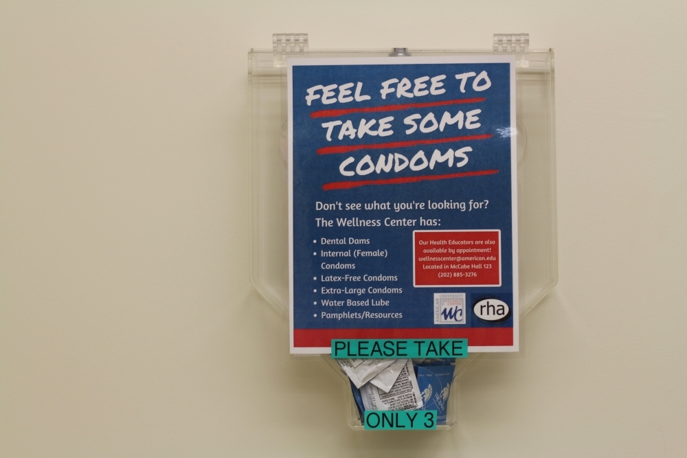Free condom dispensers installed in three dorms