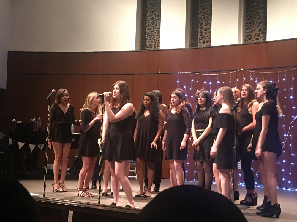 AU's a cappella groups kick off fall season with preview concert