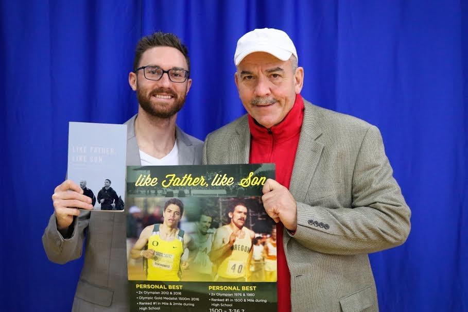 AU track coach and Olympian Matthew Centrowitz Sr. publishes memoir