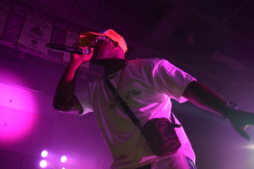 A$AP Ferg performs in Bender Arena