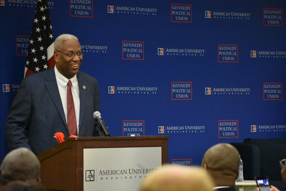 KPU, Greek organizations host AU alum Rep. Donald McEachin