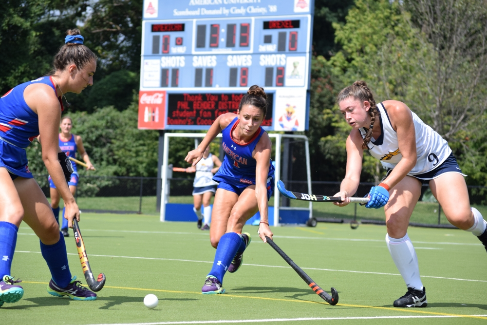 Field Hockey wins both weekend games, including Patriot League opener